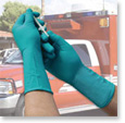 Fisherbrand Long Cuff Nitrile Exam Gloves