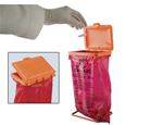 Bench-Top Biohazard Bag Holder Kit